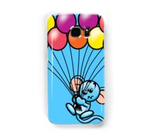 HeinyR- Blue Mouse with Balloons Samsung Galaxy Case/Skin