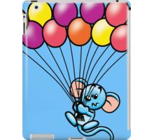 HeinyR- Blue Mouse with Balloons iPad Case/Skin