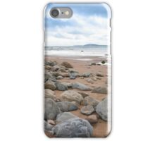 desolate rocky beal beach iPhone Case/Skin