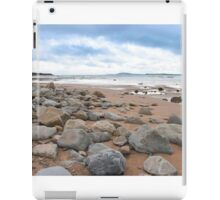 desolate rocky beal beach iPad Case/Skin