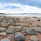 desolate rocky beal beach by morrbyte