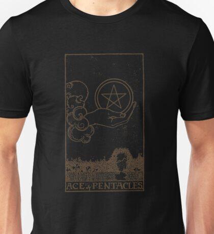 Ace of Pentacles Unisex T-Shirt