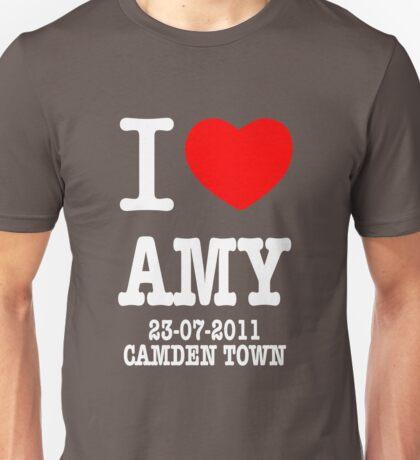 I Love Amy - Camden Town Unisex T-Shirt