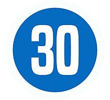 30 Photographic Print