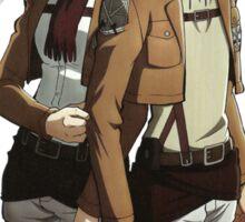 Eren & Mikasa Anime Manga Shirt Sticker