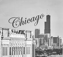 Chicago Skyline by Kadwell