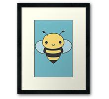 Cute & Kawaii Bee Framed Print