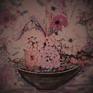 A Bowl of flowers by catherine walker