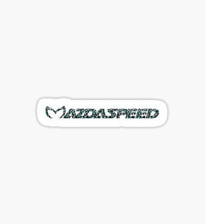 Mazdaspeed Digital Geometric Sticker