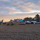 Aldeburgh, Suffolk, England by Mark Baldwyn