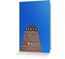 Hochzeitsturm (wedding tower) Greeting Card