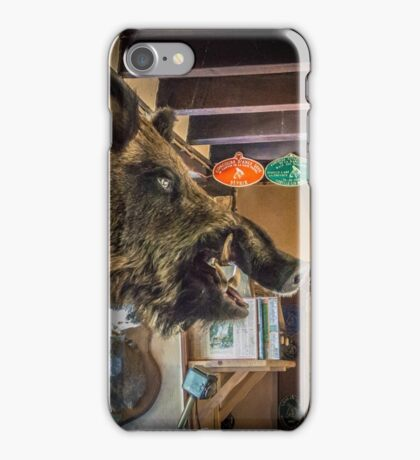 Boars Head iPhone Case/Skin