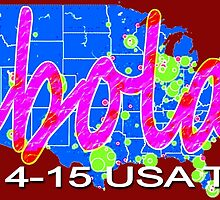 ebola USA Tour by EyeMagined