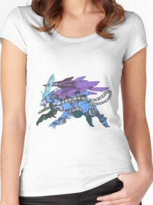 Pokezoids Suicune Women's Fitted Scoop T-Shirt