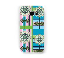 Retro patterns and fantasy flowers Samsung Galaxy Case/Skin