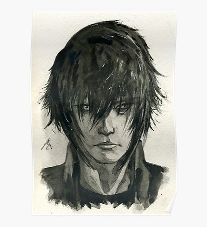Noctis from Final Fantasy XV  Poster