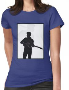 shadow guitar Womens Fitted T-Shirt