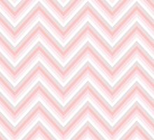 Pretty in Pink Chevrons by lawleypop