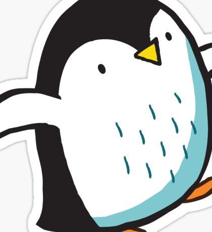 Arctic Penguins Sticker