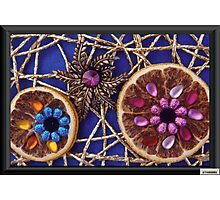 Jeweled Orange Slices Photographic Print