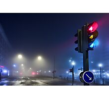 Lights in the Mist. Photographic Print
