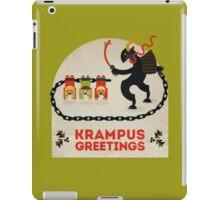 Krampus Greetings iPad Case/Skin