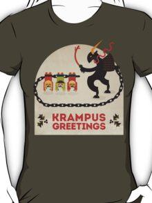 Krampus Greetings T-Shirt