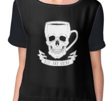 Rise and Grind Chiffon Top