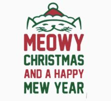 MEOWY, CHRISTMAS AND A HAPPY MEW YEAR by awesomegift