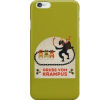 Gruss vom Krampus iPhone Case/Skin
