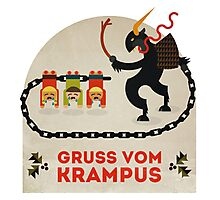 Gruss vom Krampus Photographic Print