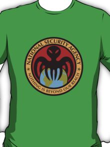The spectre of the NSA (color) T-Shirt