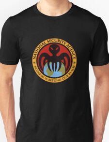 The spectre of the NSA (color) Unisex T-Shirt