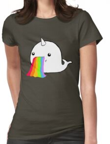 Narwhal Goes Bleh Womens Fitted T-Shirt