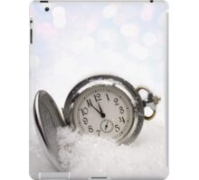 Watch lying in the snow iPad Case/Skin