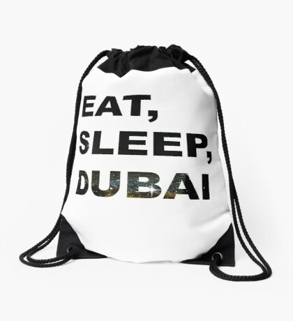 Dubai Digital Art: Drawstring Bags | Redbubble