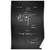 Vintage Firefighter Axe Patent 1925 Poster