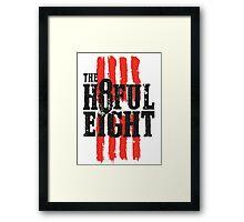 The 8ful eight Framed Print