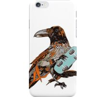 Crow boarding iPhone Case/Skin