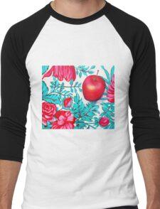 Rosy Apple Men's Baseball ¾ T-Shirt