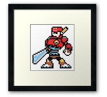 sword man Framed Print