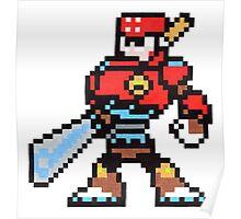 sword man Poster