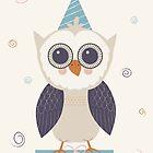 Birthday Owl by KarinBijlsma