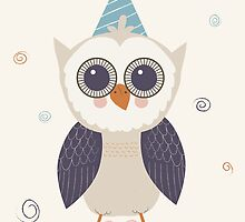 Birthday Owl by KarinBijlsma
