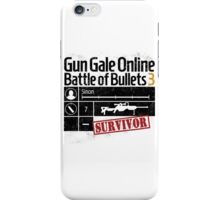 Gun Gale Online Survivor iPhone Case/Skin