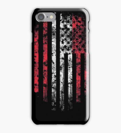 Austria and America Flag Combo Distressed Design iPhone Case/Skin