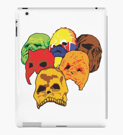 Masks iPad Case/Skin