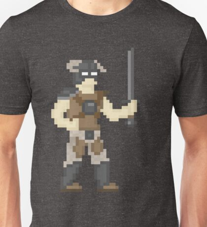 Dragonborn of Pixelrim Unisex T-Shirt