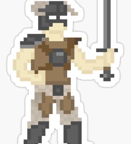 Dragonborn of Pixelrim Sticker