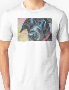 "Little Black Dog (""Korra"" the lab-mix) T-Shirt"